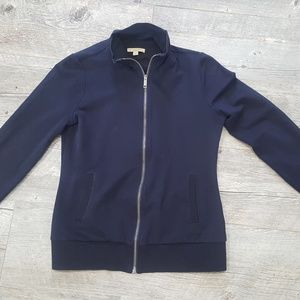 Woman Burberry sweater zip up Size M